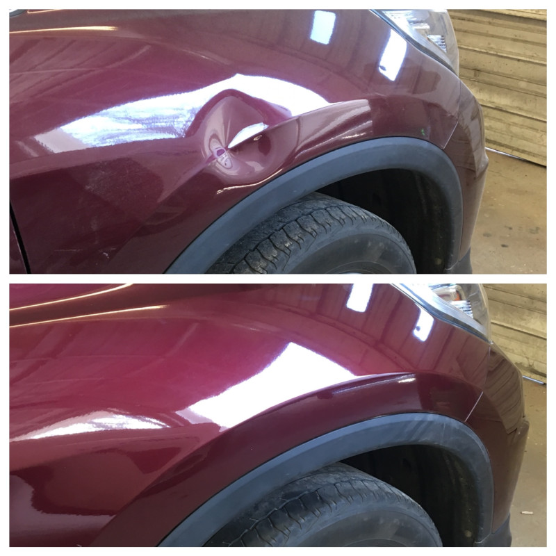 Mobile Dent Removal in Garner, North Carolina