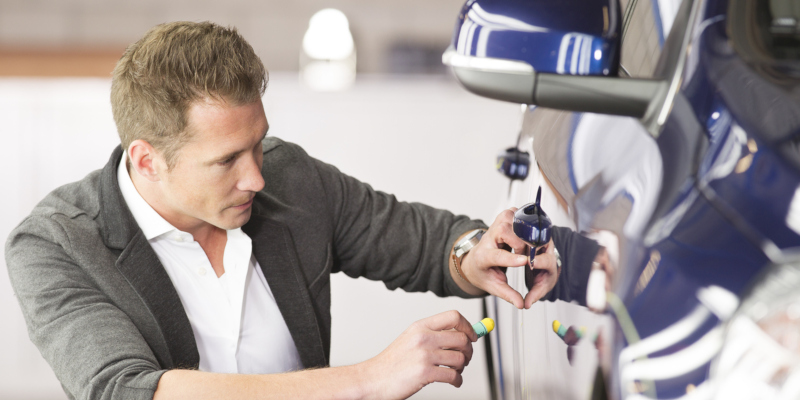 we offer mobile dent repair services