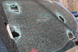 hail damage repair services also include dent repair